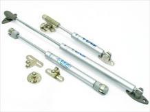 Кронштейн газовый антресольный, Тип 001 - стандартный, Крепления: пластиковое (H), стандартное (C); Нагрузка: 50N, 60N, 80N, 100N, 120N; Размер (L): 165мм, 245мм, 355мм