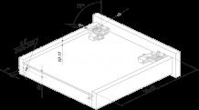 Направляющие механизмы BOYARD DB DB4461Zn/450