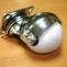Колесная опора с фланцем D=50мм, шар, серая резина ,подшипник №208
