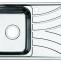 Мойка, нержавеющая сталь, шелк чаша слева, 780*440, Arro S, IDDIS, ARR78SLI77